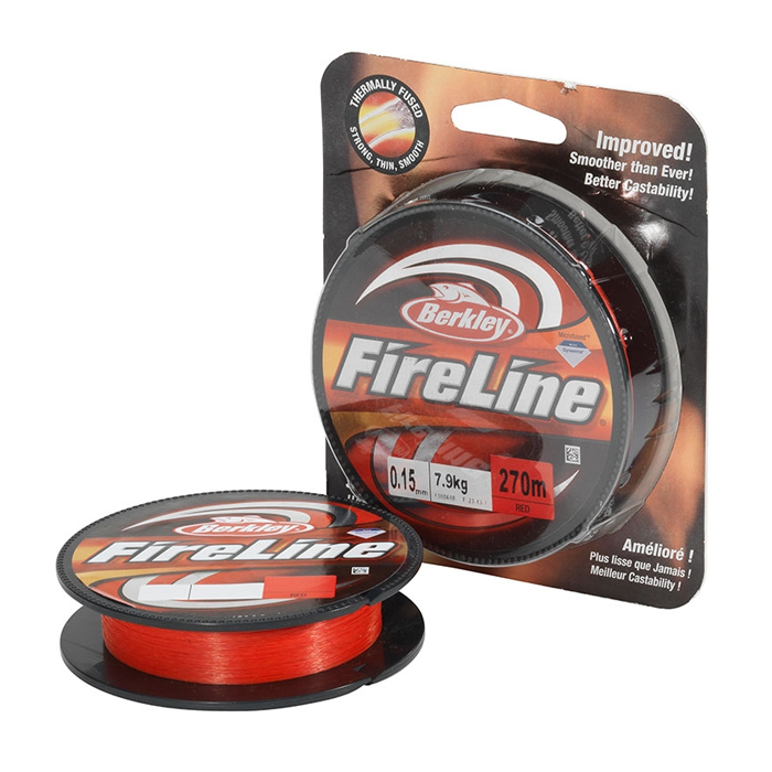 Fire Line Red 0.10 - 0.25mm 110m