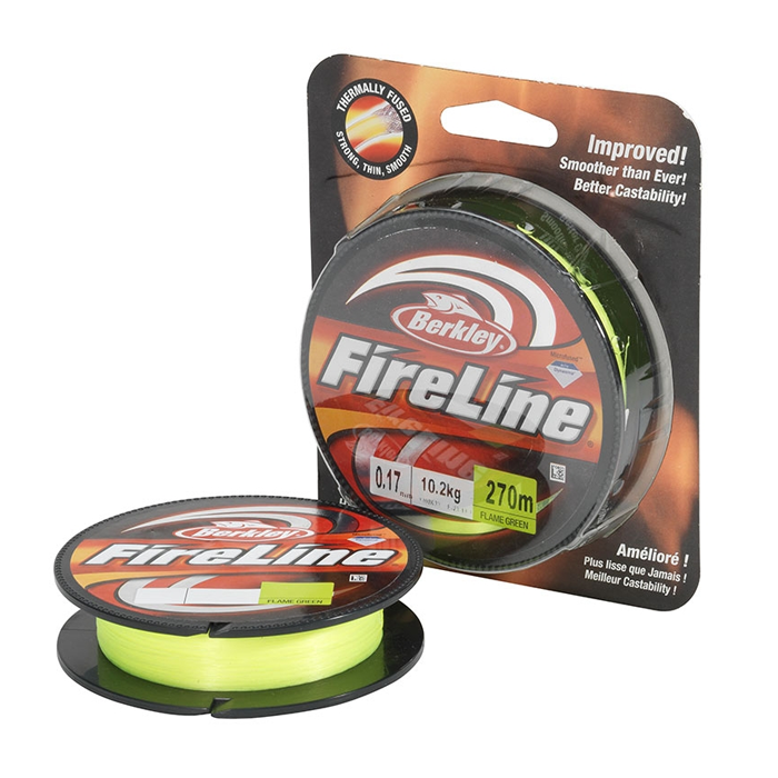 Fire Line Flame Green 0.10 - 0.25mm 110m