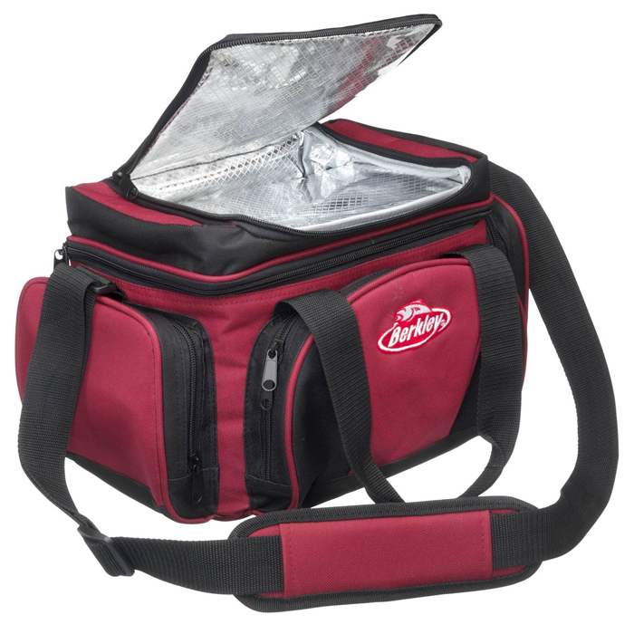 System Bag L Red-Black + 4 Boxen