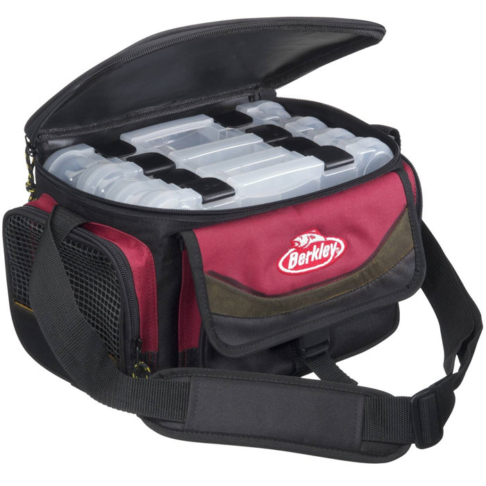 System Bag red-black + 4 Boxen