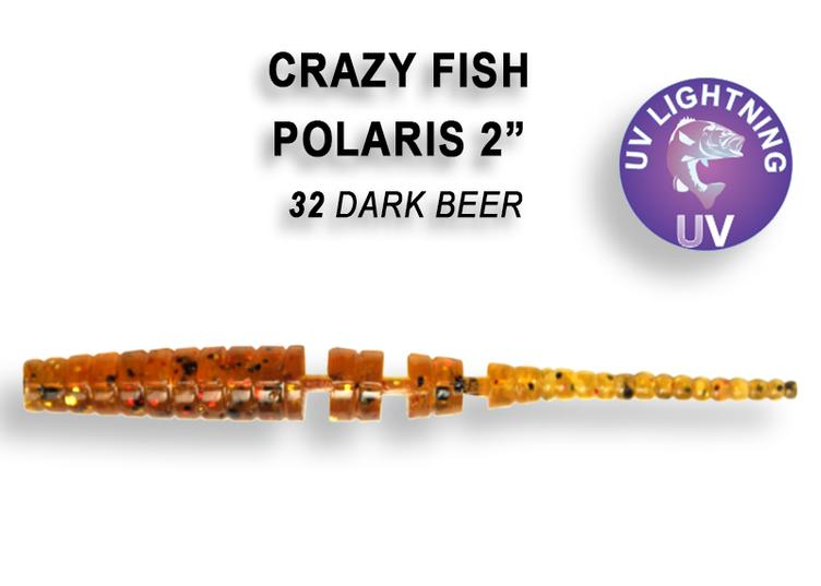 Polaris 54mm dark beer 32