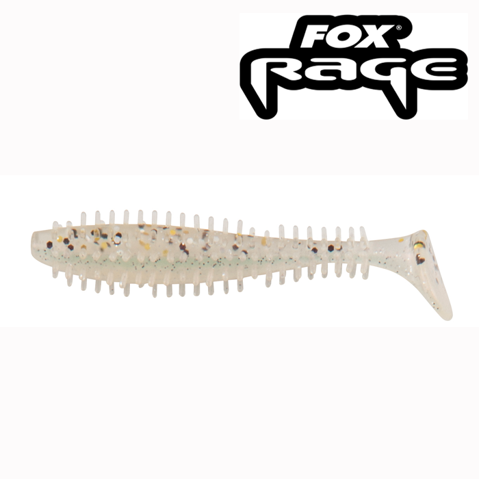 Fox Rage 12cm Spiky Shad Salt N Pepper