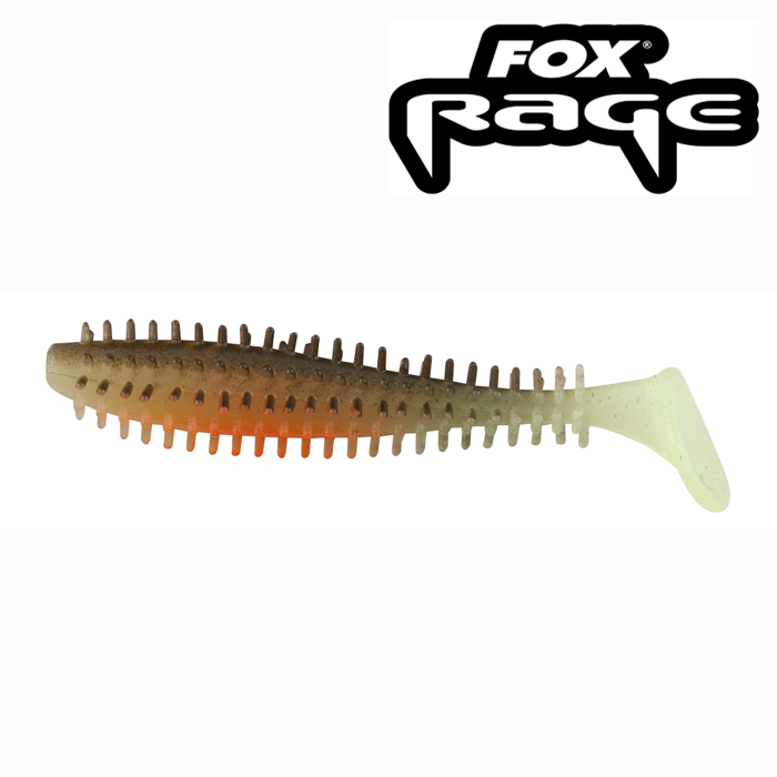 Spiky Shad Hot Olive 12cm