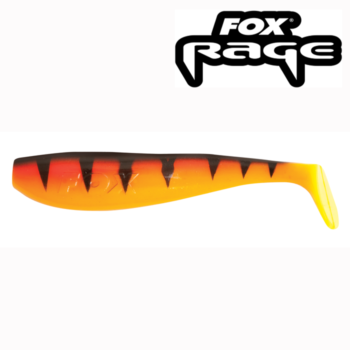 Fox Rage Zander Pro Shad 14cm Hot Tiger